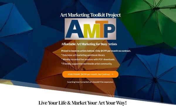 Art Marketing Toolkit Project banner
